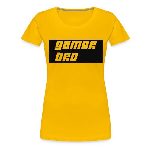 Gamer Bro - Women's Premium T-Shirt