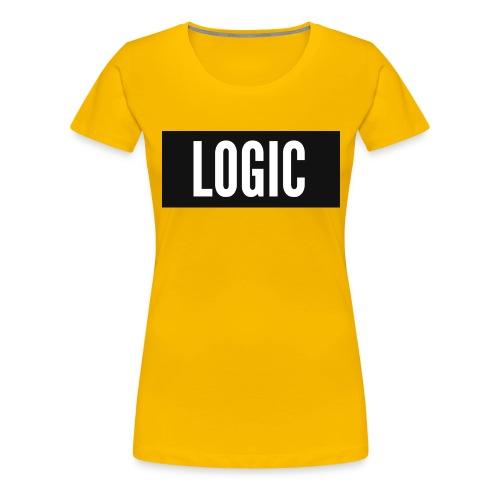 Logic Bold Logo - Women's Premium T-Shirt