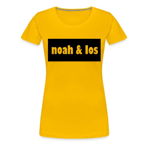 Noah and ios shirt - Women's Premium T-Shirt
