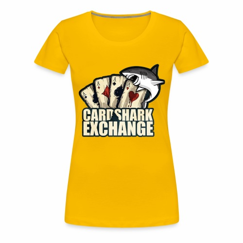 Card Shark 1 - Women's Premium T-Shirt