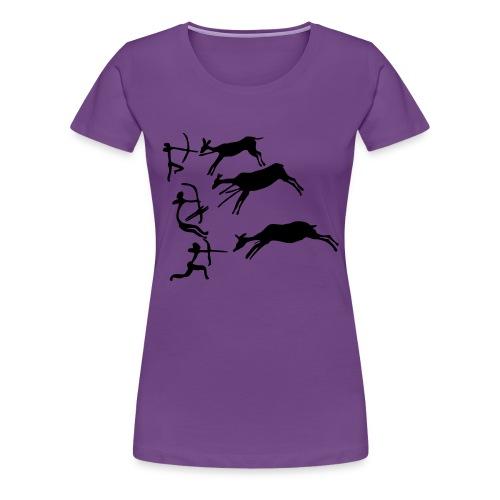 Lascaux Cave Painting - Women's Premium T-Shirt