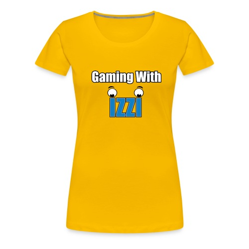 Gaming With Izzi - Women's Premium T-Shirt
