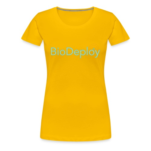 BioDeploy Logo Green Light - Women's Premium T-Shirt