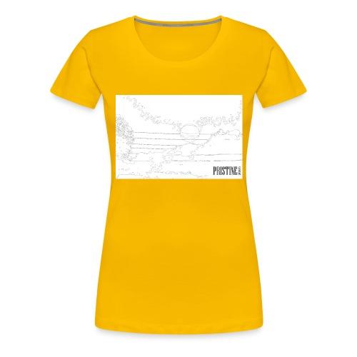 SunLines - Women's Premium T-Shirt
