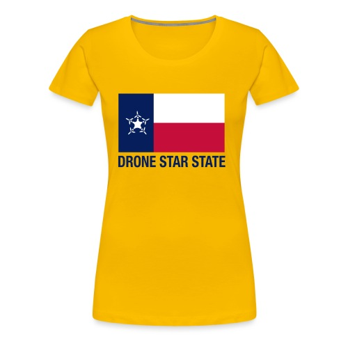 Drone Star State - Long Sleeve - Women's Premium T-Shirt