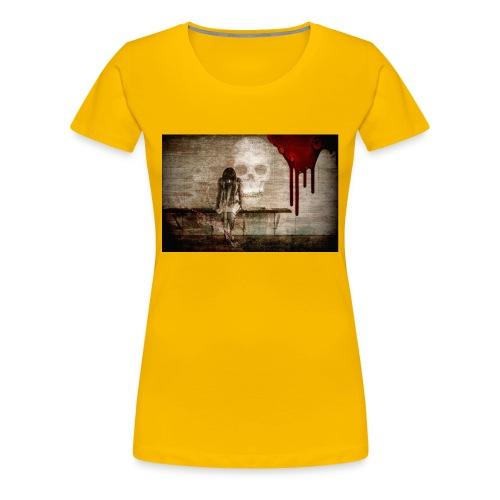 sad girl - Women's Premium T-Shirt