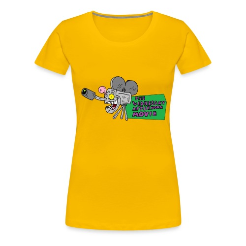 Wednesday Afternoon Movie Logo - Women's Premium T-Shirt