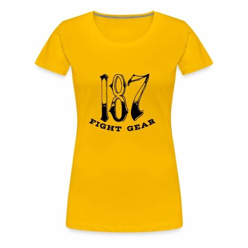 Trevor Loomes 187 Fight Gear Logo Best Sellers - Women's Premium T-Shirt