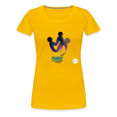 family first - Women's Premium T-Shirt