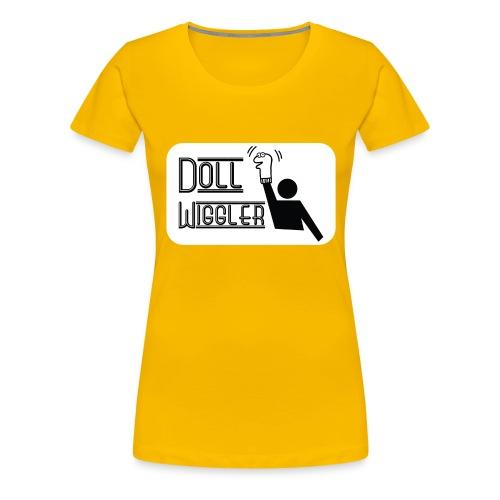 Doll Wiggler - Puppet Shirt - Women's Premium T-Shirt