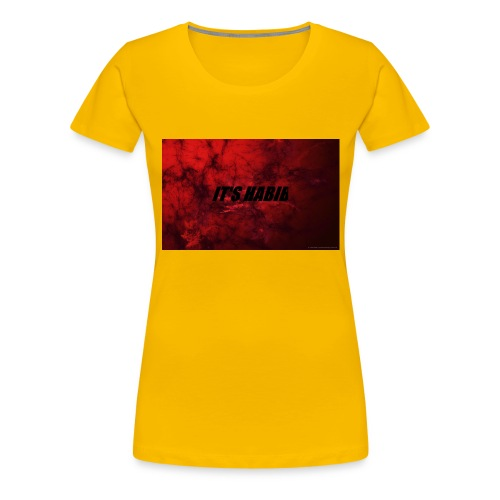 IT'S HABIB MERCH - Women's Premium T-Shirt