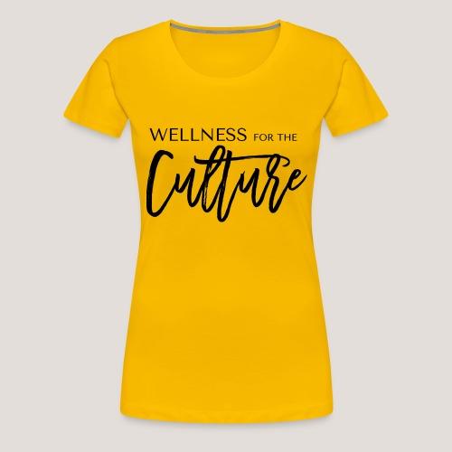 WFTC Logo Black - Women's Premium T-Shirt