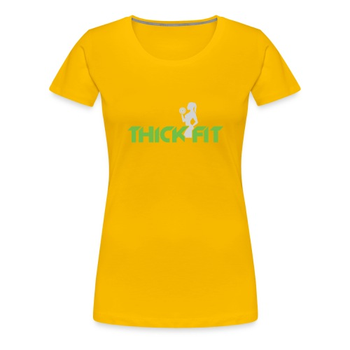 thick_fit_green_without_tag_line - Women's Premium T-Shirt