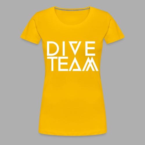 dive team full logo - Women's Premium T-Shirt