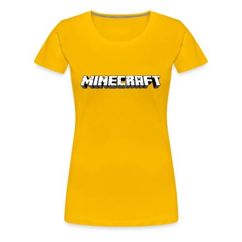 Mincraft MERCH - Women's Premium T-Shirt