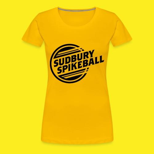 Sudbury Spikeball - Women's Premium T-Shirt