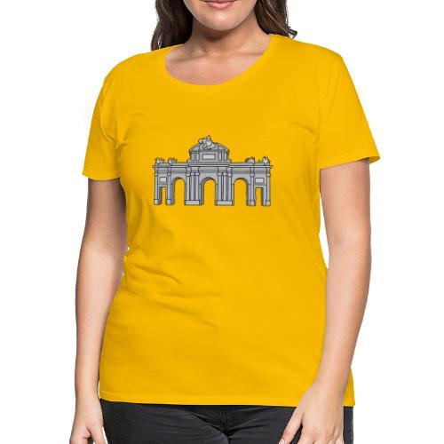 Puerta de Alcalá Madrid, Spain - Women's Premium T-Shirt