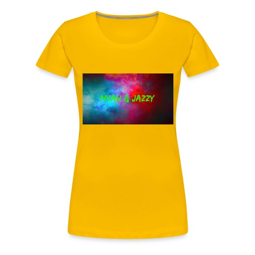 NYAH AND JAZZY - Women's Premium T-Shirt
