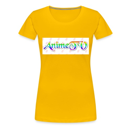 AnimeTV Fan T-Shirt - Women's Premium T-Shirt