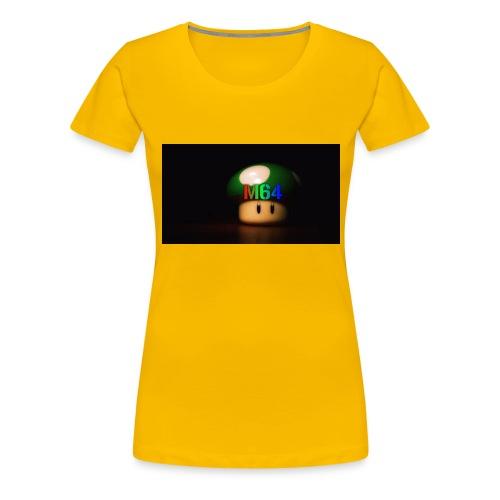 mushroom design - Women's Premium T-Shirt
