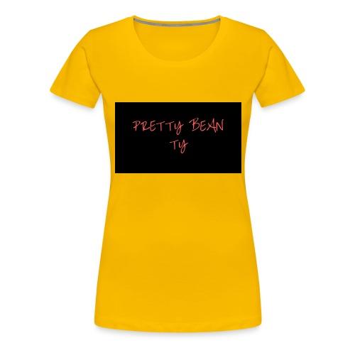 PrettyBeanPretty - Women's Premium T-Shirt