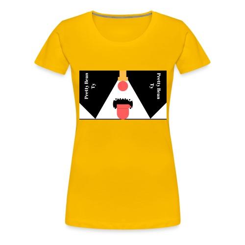 pretty - Women's Premium T-Shirt