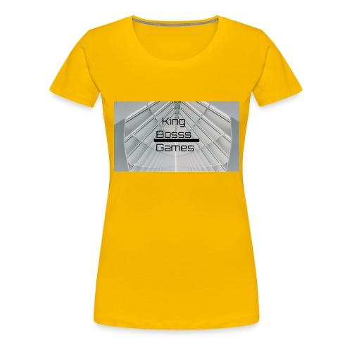 King Bosss Merc - Women's Premium T-Shirt