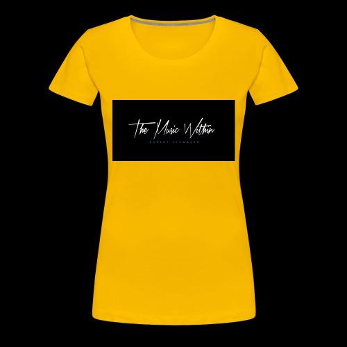 the music within mens hoodie - Women's Premium T-Shirt