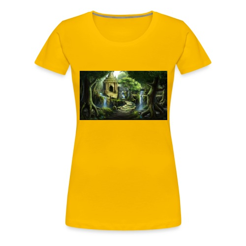 The Ancient Wild Lucian - Women's Premium T-Shirt