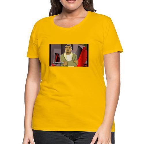 The Truck Hudson Show (Animated Sketches ) - Women's Premium T-Shirt