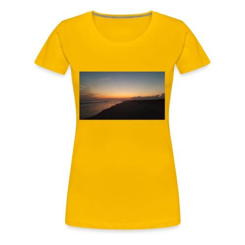Ocean Sunset - Women's Premium T-Shirt