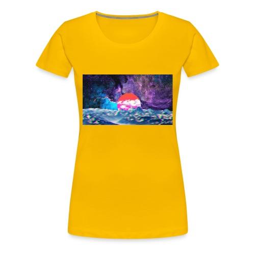 Galaxy Fazed - Women's Premium T-Shirt