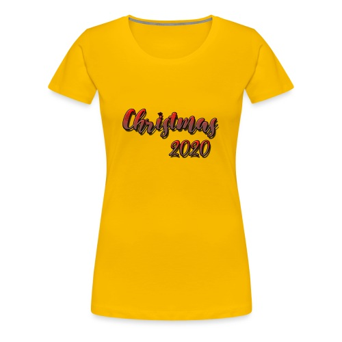 christmas 2020 - Women's Premium T-Shirt