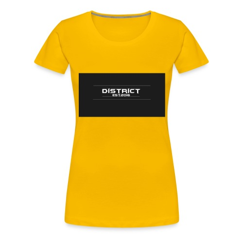 District apparel - Women's Premium T-Shirt
