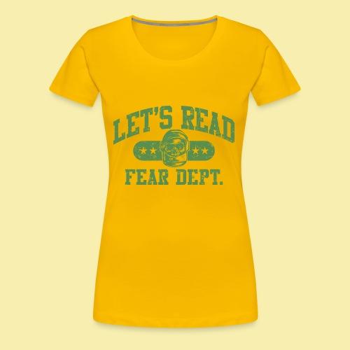 Athletic - Fear Dept. - Women's Premium T-Shirt