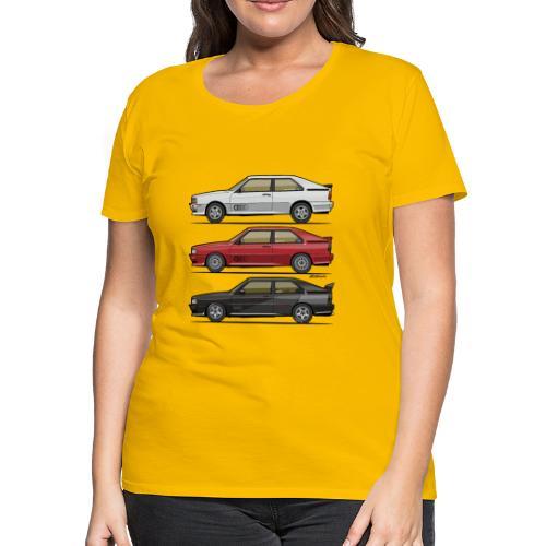 Four rings b2 urqu4ttro t - Women's Premium T-Shirt