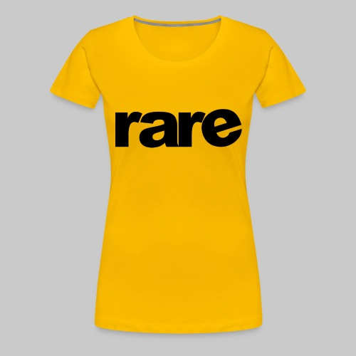 Quality Womens Tshirt 100% Cotton with Rare - Women's Premium T-Shirt