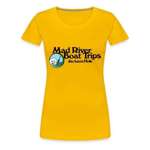 Mad River Boat Trips Logo Wear - Women's Premium T-Shirt