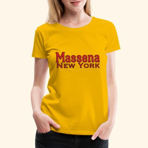 Massena New York - Women's Premium T-Shirt