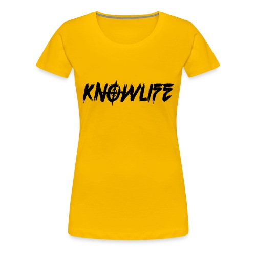 Knowlife Target - Women's Premium T-Shirt