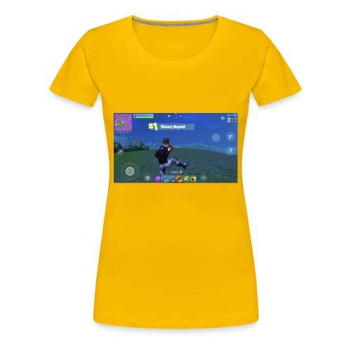 My First Win! - Women's Premium T-Shirt