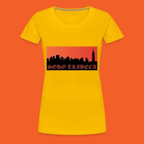Soho Tribeca NYC Skyline - Women's Premium T-Shirt