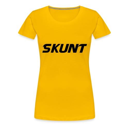 SKUNT - Women's Premium T-Shirt