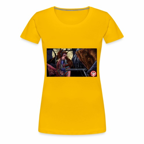Anime Demon Hunter - Women's Premium T-Shirt
