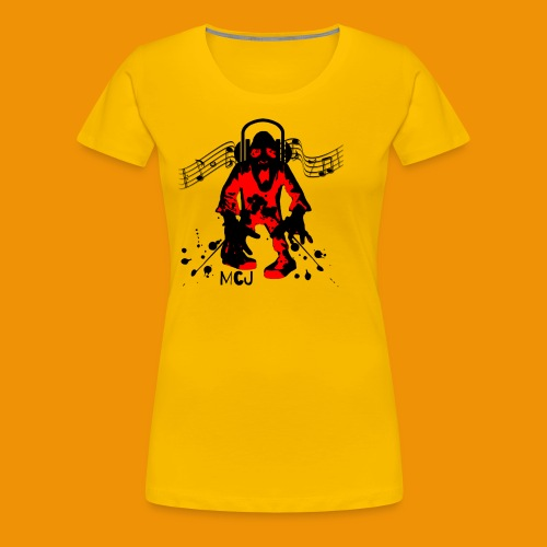 Music Zombie - Women's Premium T-Shirt