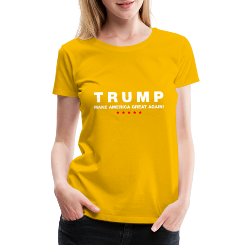 Official Trump 2016 - Women's Premium T-Shirt