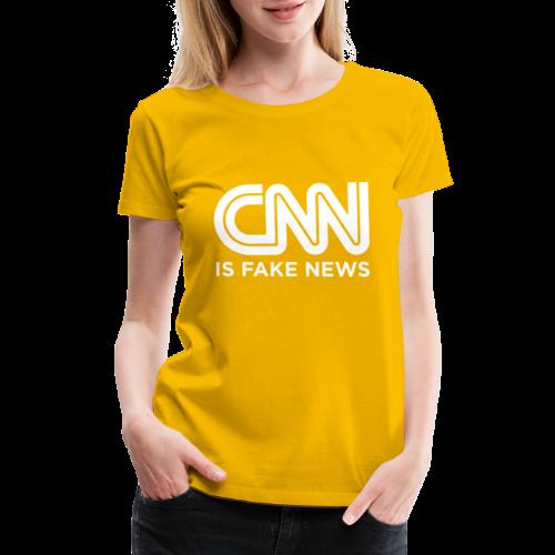 CNN Is Fake News - Women's Premium T-Shirt
