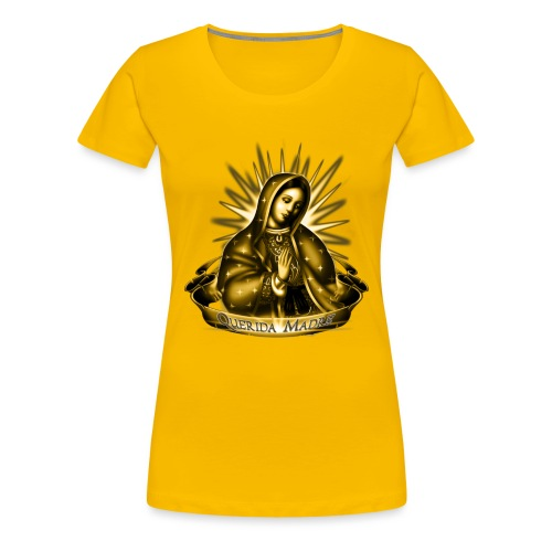 Querida Madre by RollinLow - Women's Premium T-Shirt