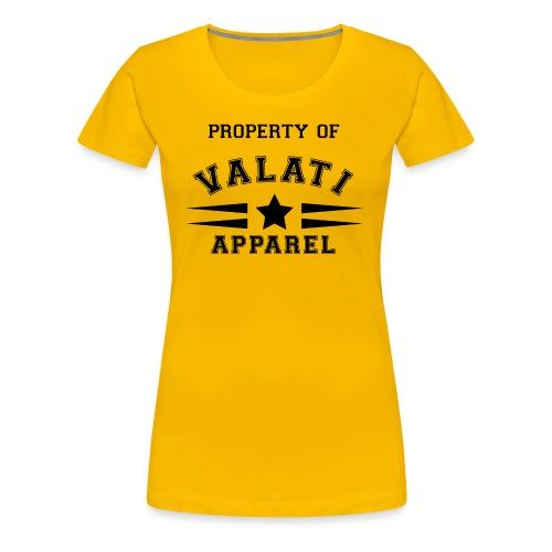 Property Of - Women's Premium T-Shirt