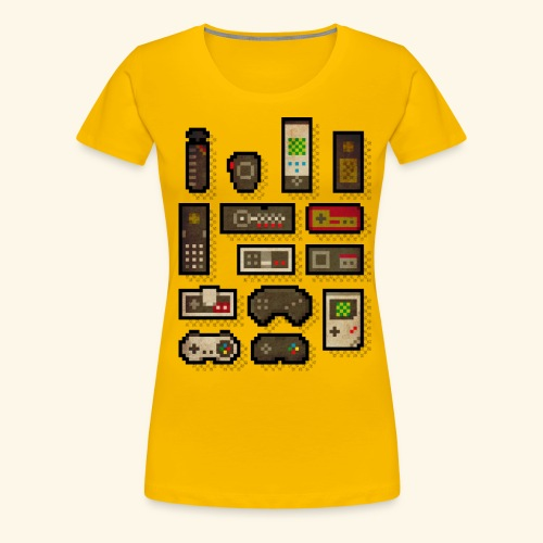 pixelcontrol - Women's Premium T-Shirt